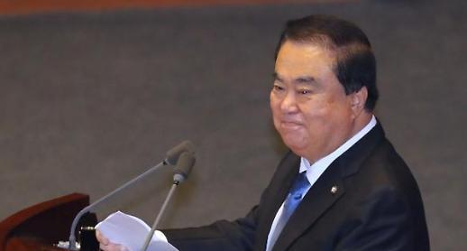 '여의도 포청천' 문희상, 입법부 수장 카리스마 기대