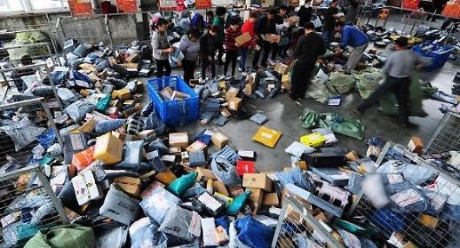 물류강국 中, 상반기 택배량 급증...업계 경쟁 치열