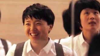 [포토] 북한선수단 환한 미소