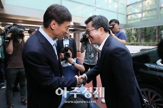 [포토] 회동 마친 김동연-이주열