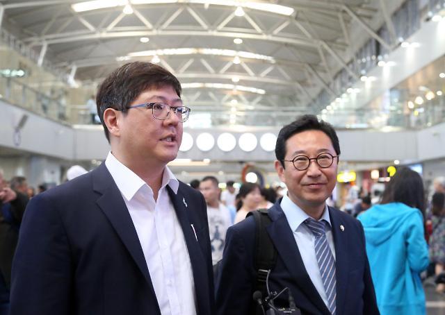 韩前总统金大中之子访朝 将讨论民间交流