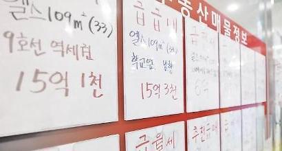'강남불패' 흔들, 규제여파 아파트 거래 뚝