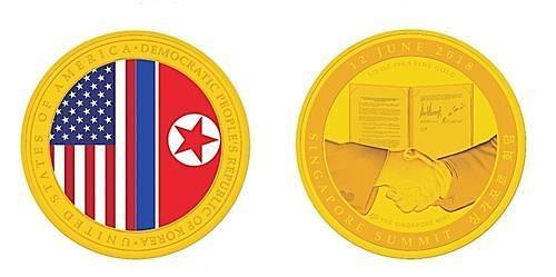 6·12朝美首脑会谈纪念币20分钟内售罄