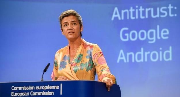 EU, 구글에 역대 최대 5조6000억원 과징금 부과