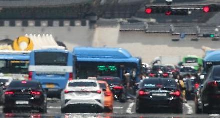 폭염에 세워진 차 온도는 몇도까지?