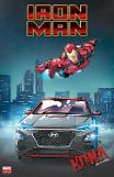 .Marvel studio and Hyundai join forces to produce Iron Man SUV.