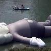 石村湖に28mのミッキーマウス登場・・・「KAWS:HOLIDAY」、ソウルを皮切りにワールドツアー