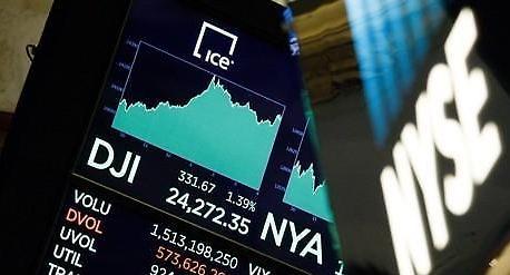 [증시] 무역전쟁 우려 속 뉴욕증시 약보합