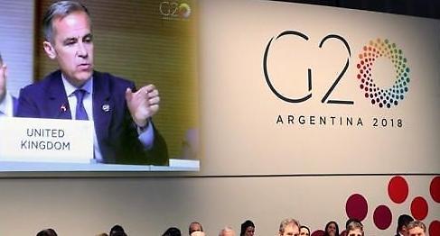 G20 무역갈등, 세계 경제 하방위험…대화+행동 나서야