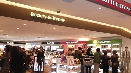 韩国免税店上半年销售额同比激增38%