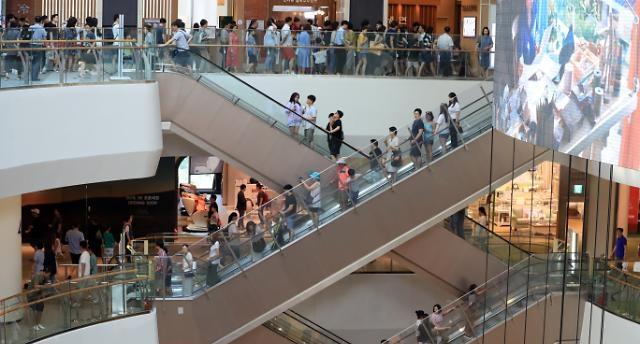 '떙큐 폭염'…백화점 주말 매출 10%↑