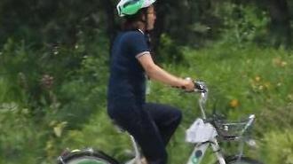 [포토] 자전거가 녹아내리는(?) 날씨