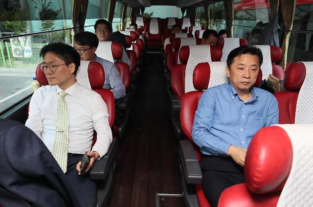 韩朝联合考察西部京义线铁路对接区段
