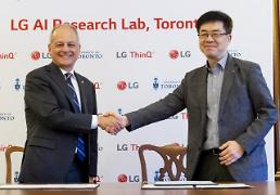 .LG Electronics opens overseas AI research lab in Canada.