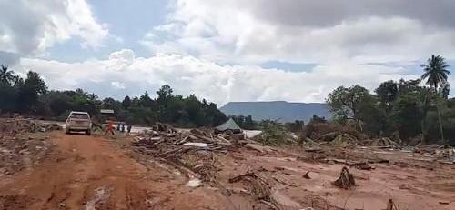 韩外长就溃坝事故向老挝外长表示慰问
