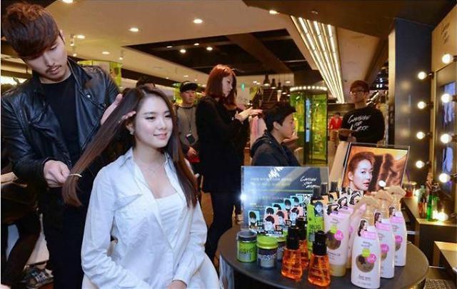 韩国护发商品在华大火 企业积极抢滩中国市场