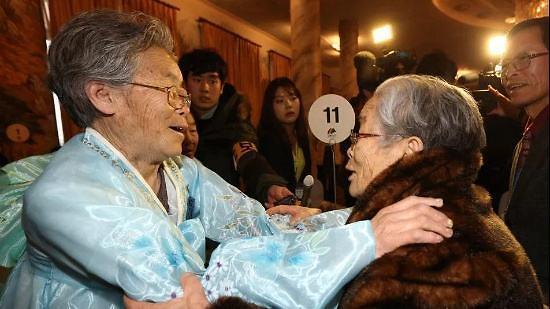 韩朝互换离散家属团聚活动名单 韩93人朝88人