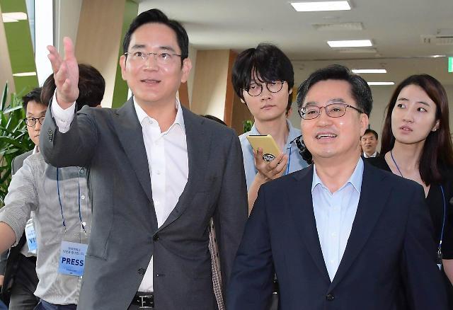 韩国财长会见李在镕 三星未公布投资计划