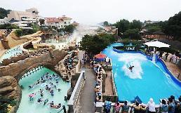.韩国大型水上乐园化合余氯含量严重超标.