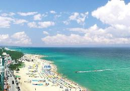 .今年韩国东海岸避暑游客数预计将减少500万名.