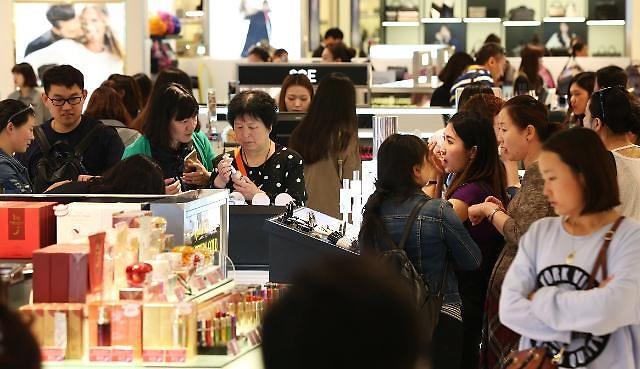 中国游客增加推高济州免税销售