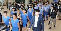 .朝鲜亚运代表团飞赴印尼.