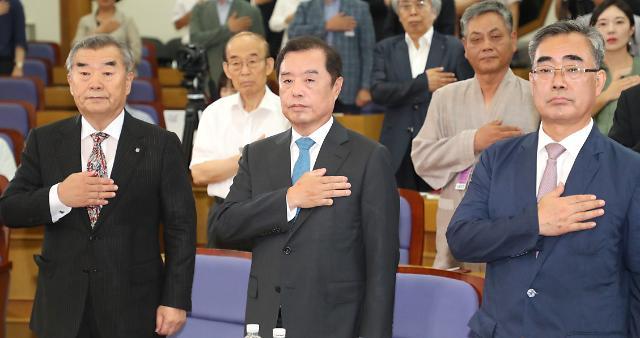 '혁신' 빠진 김병준 비대위 한달…黨 지지율 '지지부진'