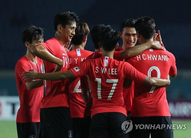 [아시안게임] 한국, 바레인에 6-0 대승하자 일본 반응은? 병역면제 파워 vs 강하다