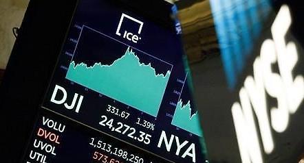[글로벌 증시] 미·중 무역협상 재개 소식에 상승