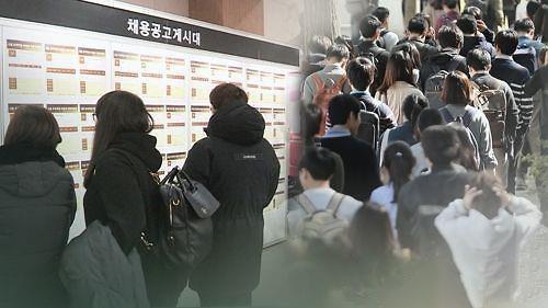 韩7月就业人口仅增5000人 失业率3.7%