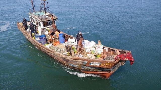 韩中商定重启联合打击非法捕捞行动