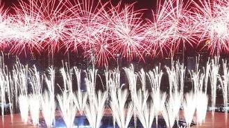 [포토] 아시아인의 화려한 축제
