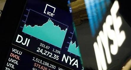 [증시] 무역갈등 완화 기대에 美는 상승...유럽은 혼조