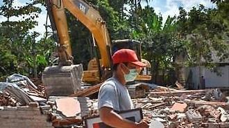 인도네시아 롬복 또 지진...피지·코스타리카 등 '불의 고리' 들썩