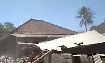 인도네시아 롬복 강진에 최소 2명 사망...3번째 강진에 우려 고조