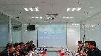 Chủ tịch Kwak Young-kil làm việc với Hiệp hội doanh nghiệp thành phố Hồ Chí Minh