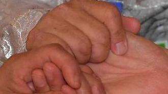[포토] 마주잡은 세 손