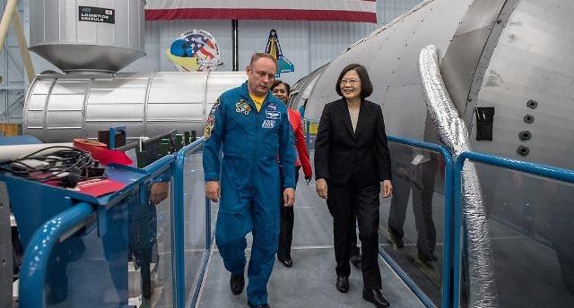 대만 차이잉원, NASA 왜 방문했나?