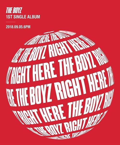 韩团THE BOYZ下月发新歌《RIGHT HERE》