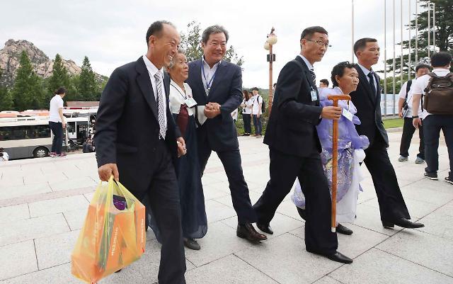 离散家庭单独会面并享团圆饭  韩政府拟促成离散家属团聚定期化