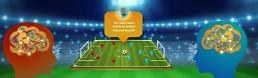 .Digital football players test skills in worlds first AI World Cup.