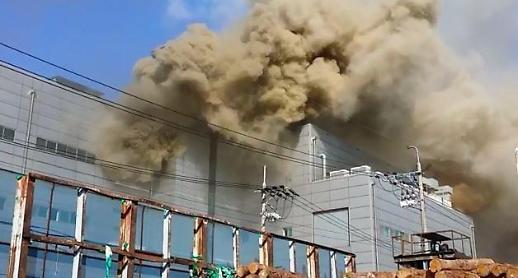 [포토] 9명 사망 인천 세일전자 화재