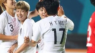 """[2018아시안게임] 한국 여자축구 8강행 """"한국 자존심 살렸네"""" """"남자축구 본 받아라"""""""