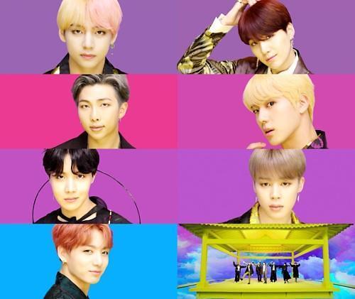 BTS新歌《IDOL》明日公开 韩国元素引人眼球