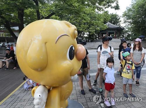 7月访韩中国游客同比增长45.9%