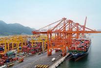 現代商船、釜山港の処理物量 史上最大値記録
