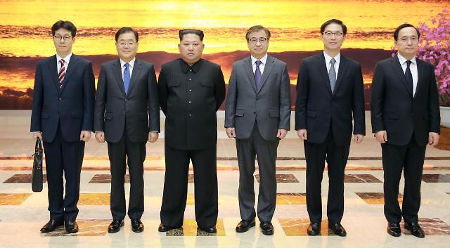 韩9月再次展开斡旋外交 特使团5日访朝