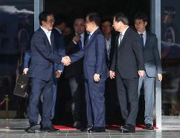 .S. Korean envoy holds talks with N. Korean officials in Pyongyang.