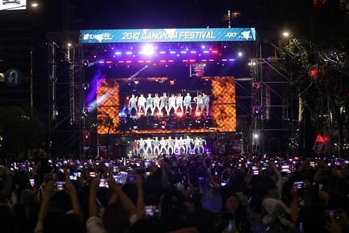 首尔江南庆典28日开幕 当红偶像登台献艺