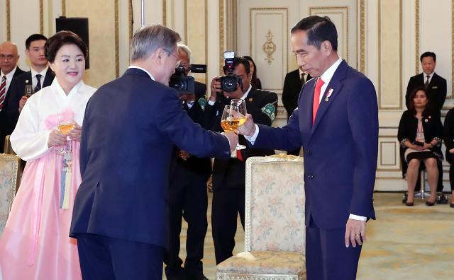 韩国与印尼举行首脑会谈  加速推动新南方政策